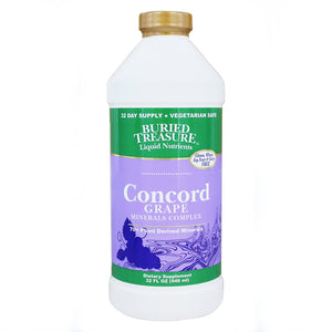 Liquid Plant Derived Minerals Concord Grape - 32 fl oz