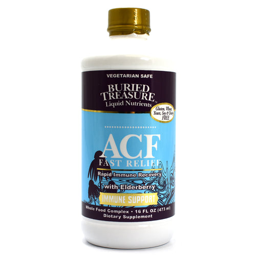 ACF Fast Relief Rapid Immune Recovery with Elderberry - 16 fl oz