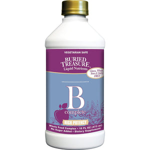 Vitamin B Complete High Potency - 16 fl oz