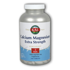 Calcium Magnesium Extra Strength 1000mg/500mg - 250 Tablets