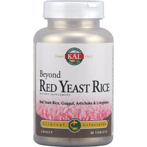 Beyond Red Yeast Rice Clinical Lifestyles - 60 Tablets
