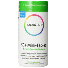 50+ Mini-Tablet Food-Based Multivitamin - 90 Tablets