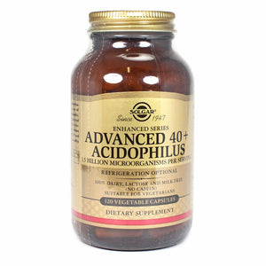 Advanced 40+ Acidophilus - 120 Vegetarian Capsules