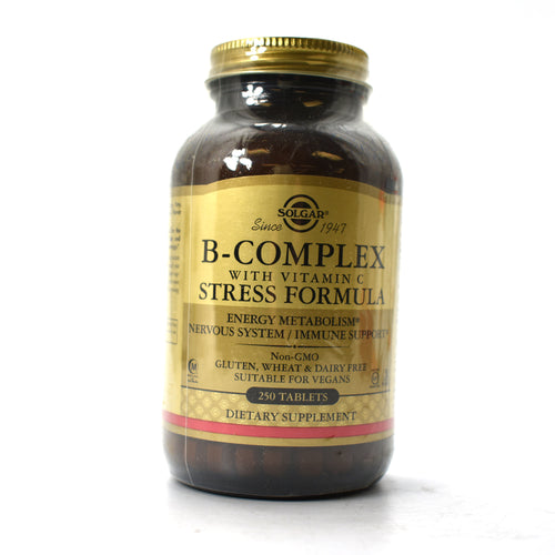B Complex with Vitamin C Stress Formula - 250 Tablets
