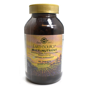 Earth Source Multi-Nutrient Providing Whole Food Concentrates - 180 Tablets