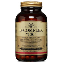 "Load image into Gallery viewer, B-Complex ""100"" - 50 Vegetable Capsules"