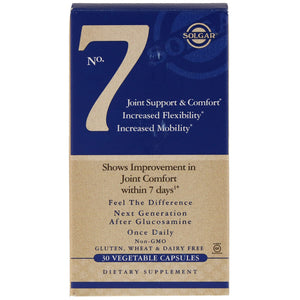 No. 7 Joint Support & Comfort - 30 Vegetable Capsules