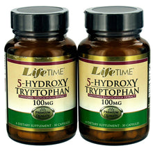 Load image into Gallery viewer, 5-Hydroxy Tryptophan (30+30) Twin Pack 100 mg - 60 Capsules