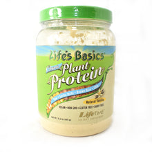 Load image into Gallery viewer, Life's Basics Organic Plant Protein Vanilla - 16.4 oz