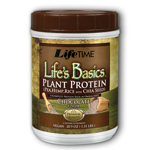 Life's Basic Plant Protein Chocolate - 1.31 lb