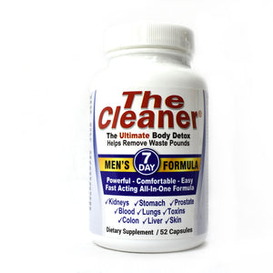 The Cleaner Men's 7-Day Formula - 52 Capsules