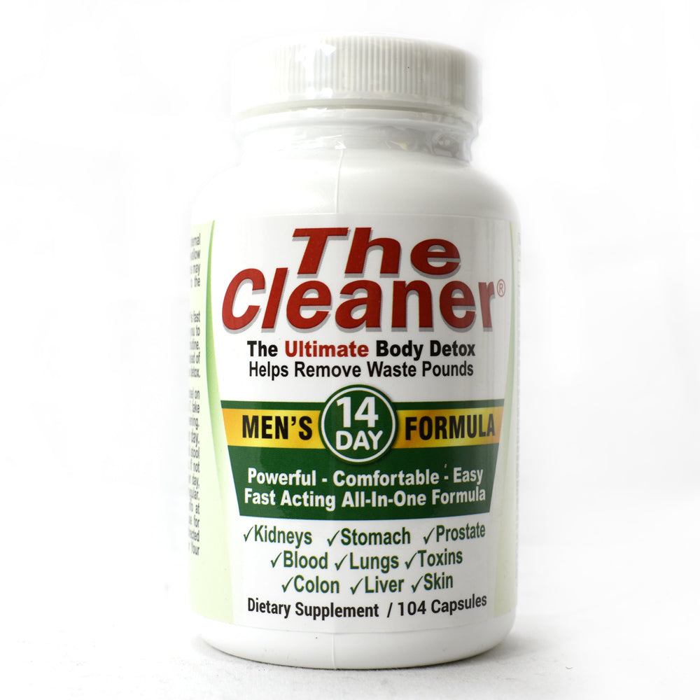 The Cleaner Men's 14-Day Formula - 104 Capsules