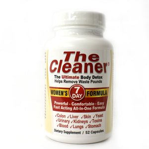 The Cleaner Women's 7-Day Formula - 52 Capsules
