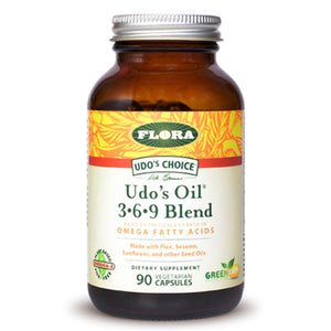 Udo's Choice Udo's Oil 3-6-9 Blend - 90 Capsules