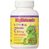 Big Friends Vitamin C 250 mg Chewable Tangy Orange - 90 Tablets