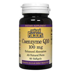 CoEnzyme Q10 Enhanced Absorption Formula 100 mg - 60 Softgels