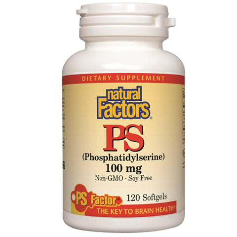 PS (Phosphatidylserine) 100mg - 120 Softgels