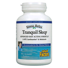 Load image into Gallery viewer, Stress-Relax Tranquil Sleep - 60 Chewable Tablets