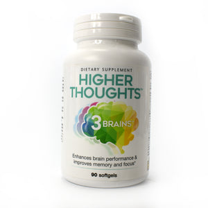 3 Brains Higher Thoughts - 90 Softgels