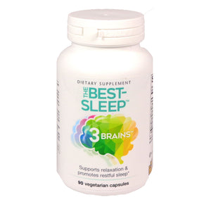 3 Brains The Best Sleep - 90 Vegetarian Capsules