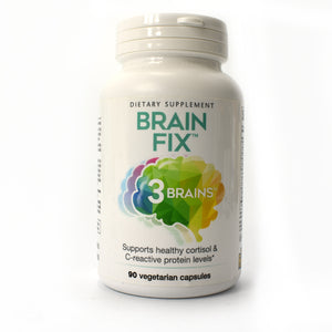 3 Brains Brain Fix - 90 Vegetarian Capsules