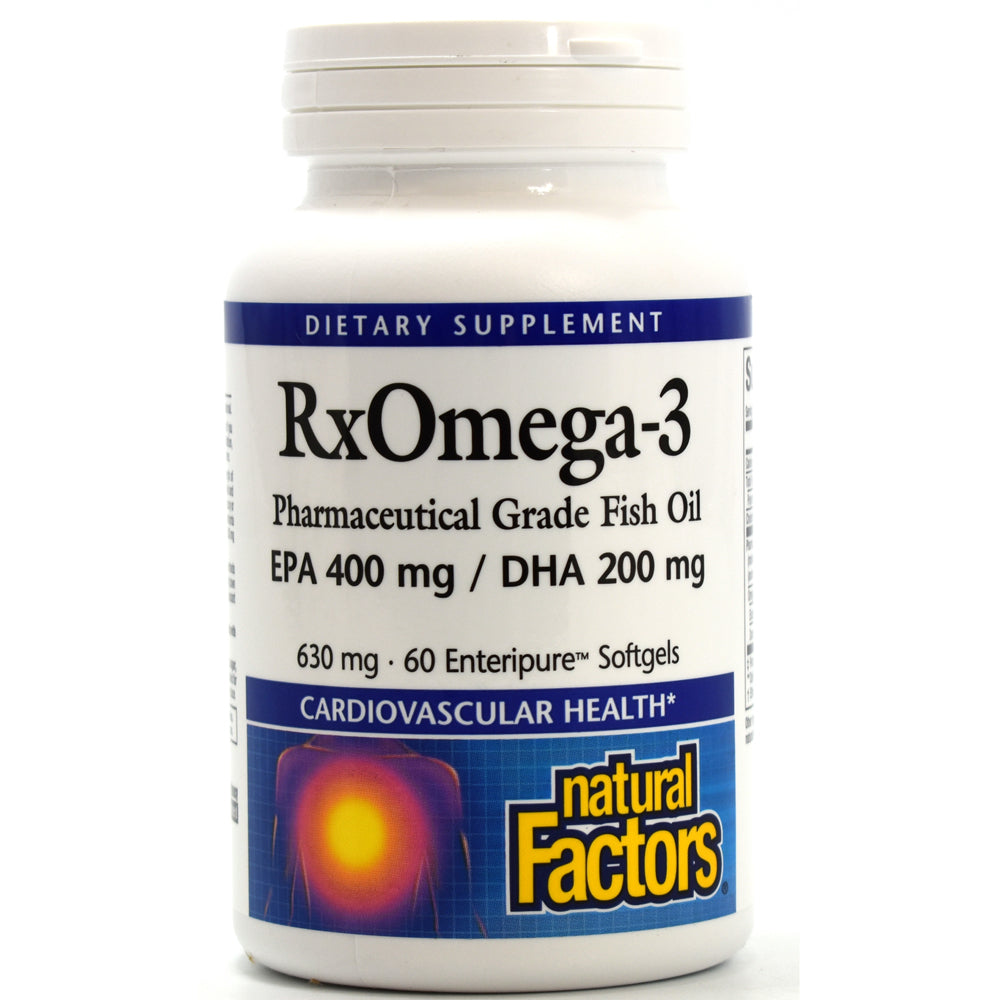 Dr. Murray's RxOmega-3 Factors EPA 400mg / DHA 200mg - 60 Softgels