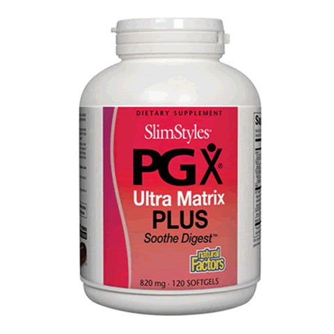 SlimStyles PGX Ultra Matrix Plus Smooth Digest 820mg - 120 Softgels