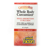 CurcuminRich Whole Body Curcumizer High Absorption Curcumin- 60 Softgels