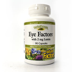 Eye Factors with 2 mg Lutein - 90 Capsules