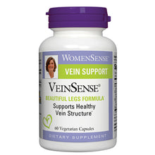 Load image into Gallery viewer, WomenSense VeinSense Beautiful Legs Formula - 60 Vegetarian Capsules