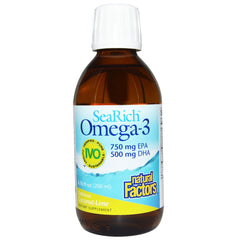 SeaRich Omega-3 750 mg EPA/500 mg DHA Coconut-Lime - 6.76 oz