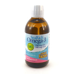 SeaRich Omega-3 750 mg EPA/500 mg DHA Grapefruit Punch - 6.76 oz
