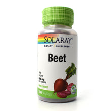 Load image into Gallery viewer, Beet Root 605mg - 100 Vegetarian Capsules