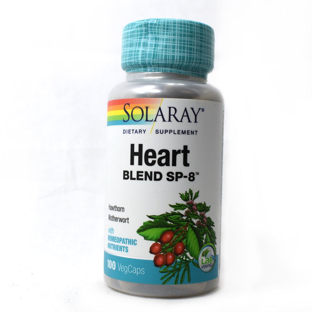 Heart Blend SP-8 - 100 Vegetarian Capsules