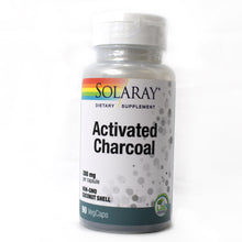 Load image into Gallery viewer, Activated Charcoal 280mg - 90 Capsules