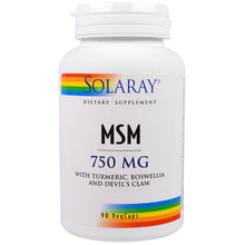 Load image into Gallery viewer, MSM 750mg - 90 Capsules