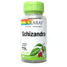 Load image into Gallery viewer, Schizandra 580mg - 100 Capsules