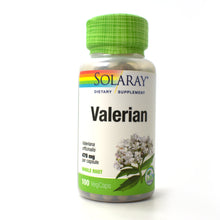 Load image into Gallery viewer, Valerian 470mg - 100 Vegetarian Capsules