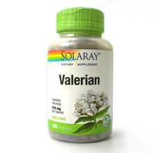 Load image into Gallery viewer, Valerian 470mg - 180 Vegetarian Capsules