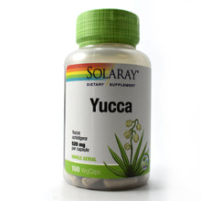 Load image into Gallery viewer, Yucca 520mg - 100 Vegetarian Capsules