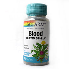 Load image into Gallery viewer, Blood Blend SP-11A - 100 Vegetarian Capsules