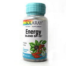 Load image into Gallery viewer, Energy Blend SP-15 - 100 Vegetarian Capsules