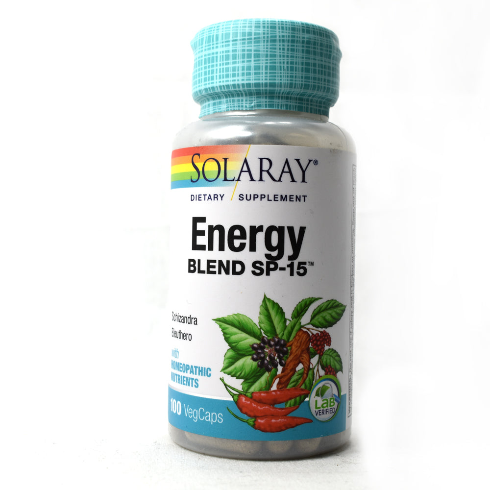 Energy Blend SP-15 - 100 Vegetarian Capsules