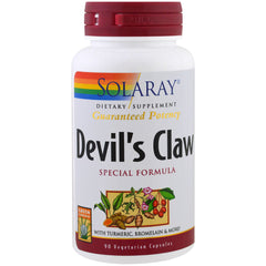 Guaranteed Potency Devil's Claw Special Formula with Turmeric, Bromelain & More - 90 Vegetarian Capsules