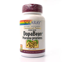 Load image into Gallery viewer, Guaranteed Potency Enteric Coated DopaBean Mucuna Pruriens - 60 Vegetarian Capsules