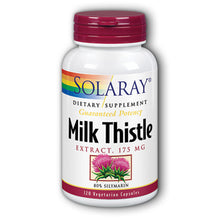 Load image into Gallery viewer, Guaranteed Potency Milk Thistle Extract 175mg - 120 Vegetarian Capsules