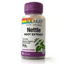 Load image into Gallery viewer, Nettle Root Extract 300 mg - 60 Vegetarian Capsules