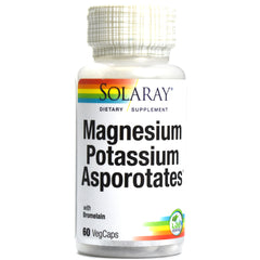 Magnesium and Potassium Asporotates with Bromelain - 60 Capsules