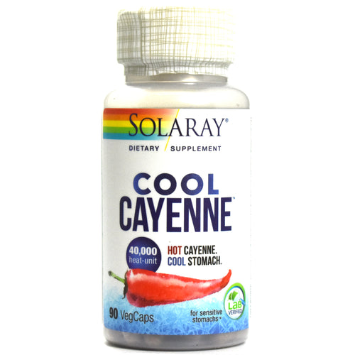 Cool Cayenne 40,000 Heat Unit - 90 Vegetarian Capsules