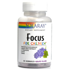 Focus for Children Grape - 60 Chewables